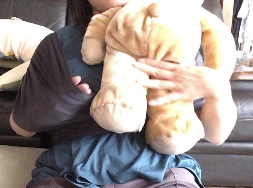 コニー抱っこ紐新生児抱きのやり方